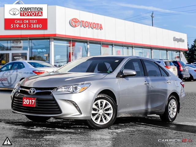 2017 TOYOTA CAMRY LE Former Daily Rental, No Accidents in London, Ontario
