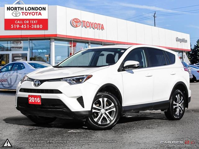 2016 TOYOTA RAV4 LE Toyota Certified, Former Daily Rental in London, Ontario