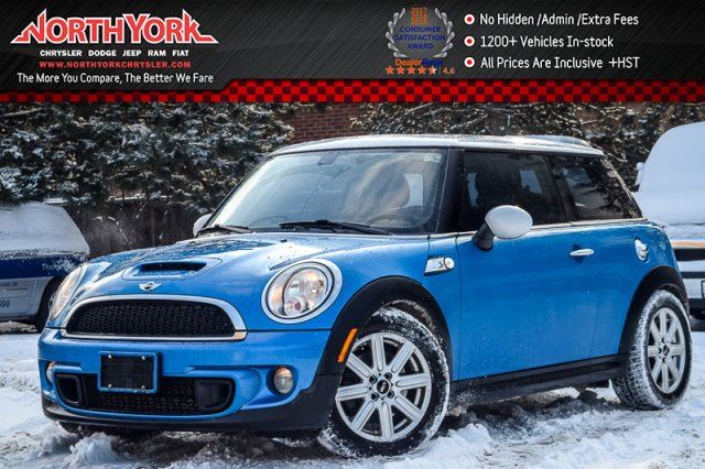 2012 MINI COOPER S Dual_Sunroof Heat.Frnt Seats Trac.Cntrl Bluetooth 16Alloys in Thornhill, Ontario