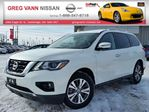 2017 Nissan Pathfinder SL 4x4 w/all leather,lane assist,heater seats,climate control,rear cam,remote start in Cambridge, Ontario