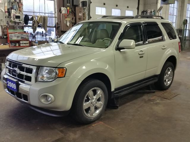 2009 Ford Escape Limited,3.0 LTR,V6,4X4,HEATED LEATHER,SUNROOF,CHROME WHEELS in Dunnville, Ontario