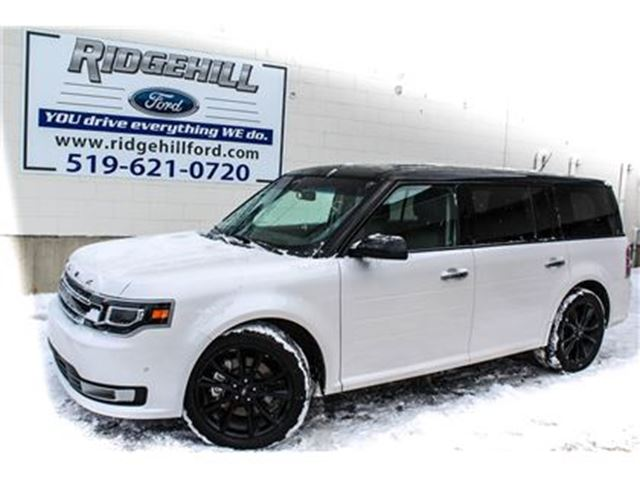2017 FORD FLEX Limited  AWD  ECO BOOST 3.5L  NAV  BLISS in Cambridge, Ontario