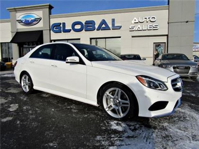 2014 MERCEDES-BENZ E550 Sedan 4MATIC NAVIGATION PANOR. ROOF in Ottawa, Ontario