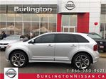2014 Ford Edge Sport, ACCIDENT FREE, NAVi, 1 OWNER ! in Burlington, Ontario