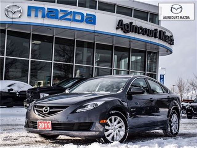 2011 MAZDA MAZDA6 GS-ALLOYS, KEYLESS , AUTO HEADLIGHTS, BLUETOOTH in Scarborough, Ontario