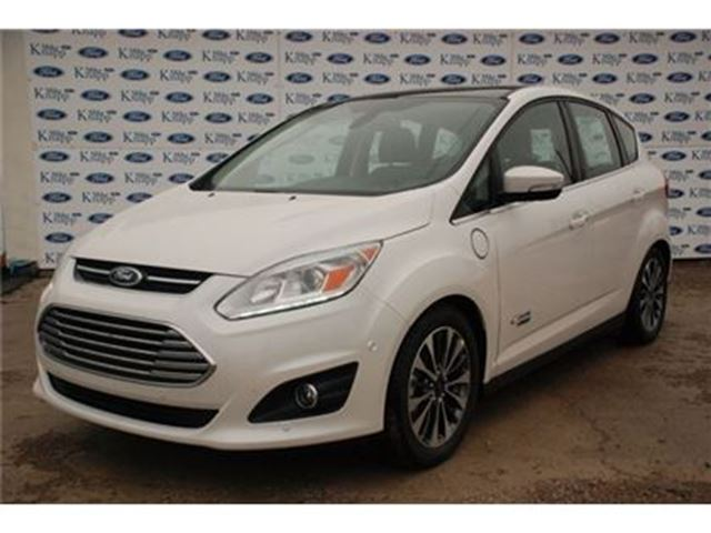 2017 Ford C-Max Titanium Previous Service Shuttle,Nav,Leather Seat in Welland, Ontario