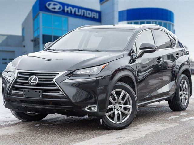 2015 LEXUS NX 200T LEATHER, SUNROOF, AWD in Mississauga, Ontario