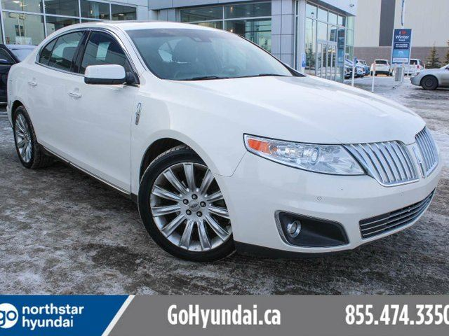 2009 LINCOLN MKS LEATHER/PANOROOF/AWD/V6 in Edmonton, Alberta