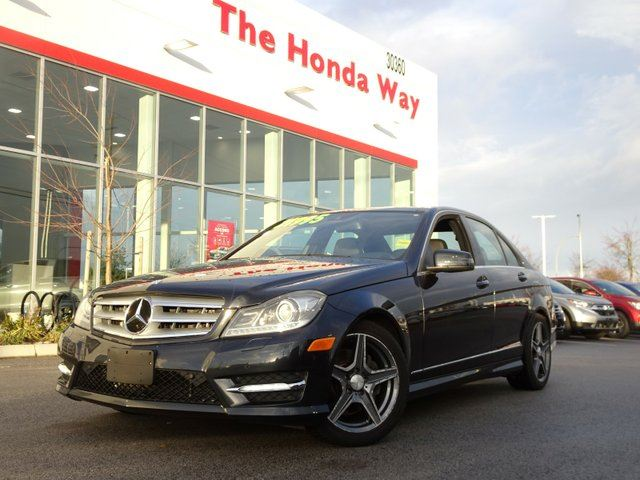 2012 MERCEDES-BENZ C-CLASS C300 4MATIC Luxury Sedan in Abbotsford, British Columbia
