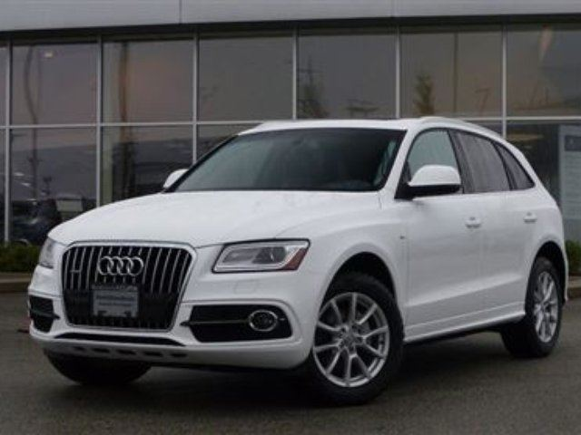 2013 AUDI Q5 2.0T Prem Tip Qtro *S Line* in North Vancouver, British Columbia