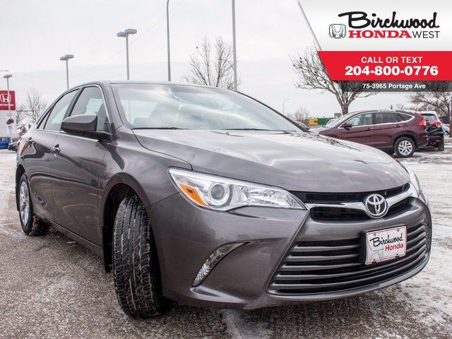 2016 TOYOTA CAMRY LE Heated Seats in Winnipeg, Manitoba
