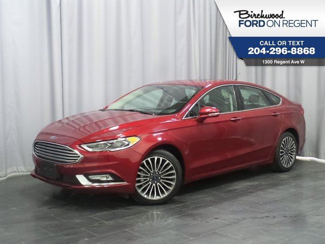 2017 FORD FUSION SE AWD*Leather/Moon Roof/Navigation* in Winnipeg, Manitoba