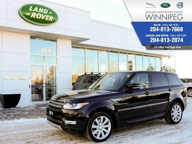 2014 LAND ROVER RANGE ROVER Sport V8 Supercharged *INCLUDES CPO!* in Winnipeg, Manitoba
