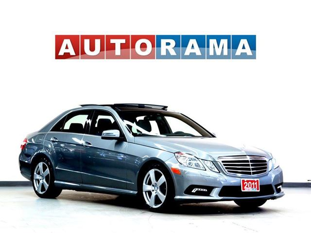 2011 Mercedes-Benz E-Class E350 NAVIGATION LEATHER PANORAMIC SUNROOF 4WD in North York, Ontario