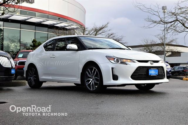 2015 SCION TC Toyota Certified, balance of factory warranty,  in Richmond, British Columbia