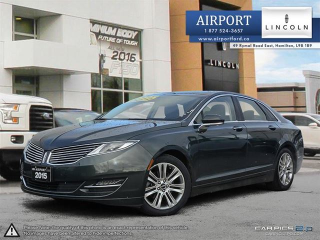 2015 LINCOLN MKZ FWD with only 32,310 kms in Hamilton, Ontario