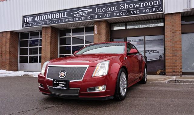 2010 CADILLAC CTS CTS4 AWD PANO ROOF LEATHER NO ACCIDENT in Mississauga, Ontario