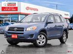 2012 Toyota RAV4 Base One Owner, Toyota Serviced in London, Ontario