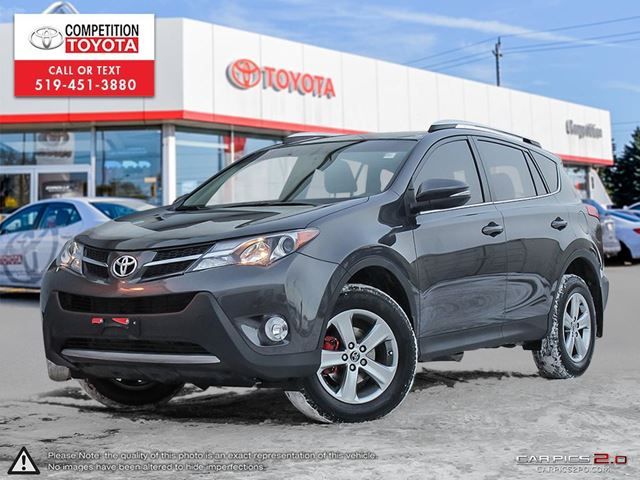 2015 TOYOTA RAV4 XLE Toyota Certified, One Owner, No Accidents, Toyota Serviced in London, Ontario