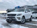 2015 Mercedes-Benz M-Class ML350 BlueTEC 4MATIC, NAV, ONE OWNER, NO ACCIDENTS in Newmarket, Ontario