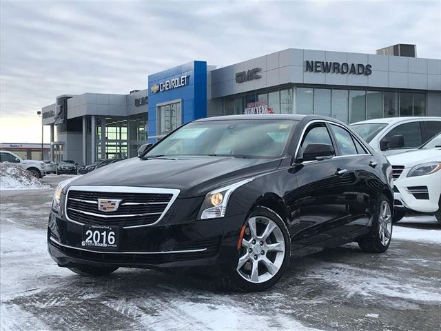 2016 CADILLAC ATS 2.0L Turbo Luxury Collection 2.0L Turbo Luxury, NAV, ONE OWNER, NO ACCIDENT in Newmarket, Ontario