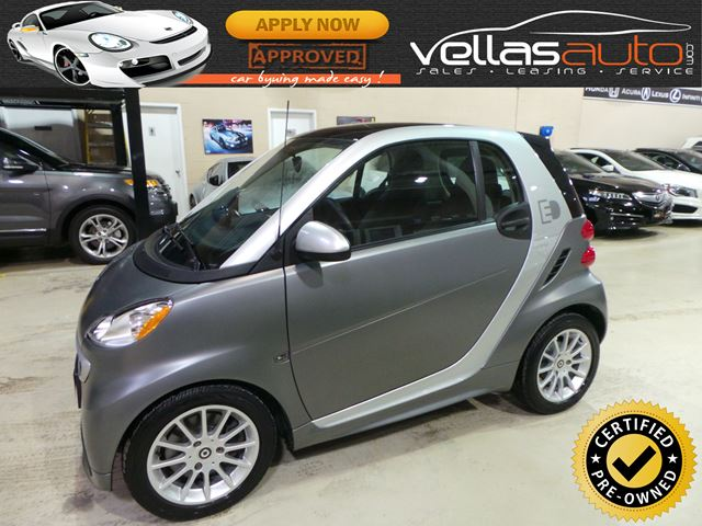 2014 SMART FORTWO ELECTRIC DRIVE PASSION| PANO RF| 23KM in Vaughan, Ontario