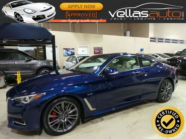 2017 Infiniti Q60 S 3.0T| RED SPORT 400| COUPE| AWD in Vaughan, Ontario
