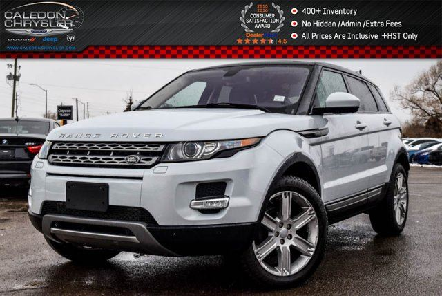 2015 LAND ROVER RANGE ROVER EVOQUE Pure Plus AWD Navi Pano Sunroof Bluetooth Backup Cam Leather 19Alloy Rims in Bolton, Ontario