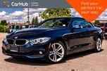 2014 BMW 4 Series 428i xDrive Pwr Hard Top Navi Backup Cam Bluetooth Leather 19Alloy Rims in Bolton, Ontario