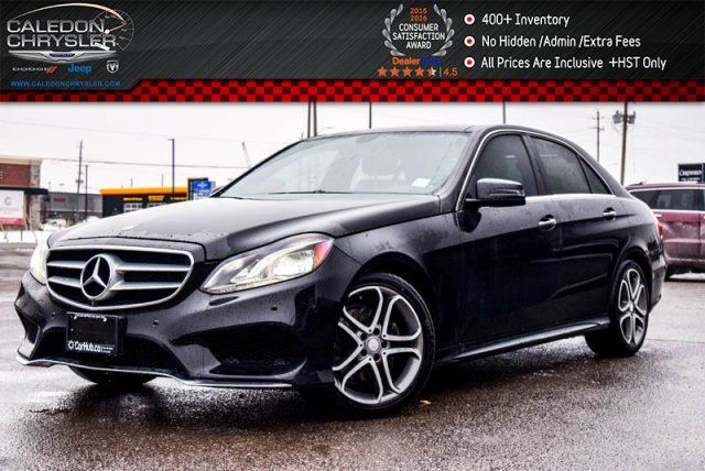 2014 MERCEDES-BENZ E-Class E 250 BlueTEC 4Matic Navi Sunroof 360 Backup Cam Bluetooth Leather 17Alloy Rims in Bolton, Ontario