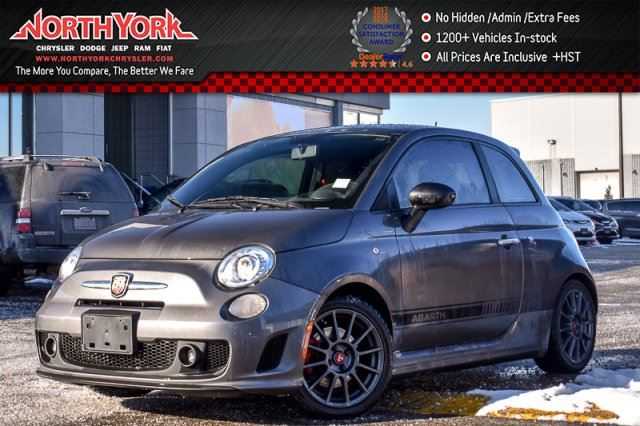 2013 FIAT 500 Abarth Manual Sunroof Keyless_Entry Pwr.Options Sat 17Alloys in Thornhill, Ontario