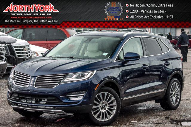 2015 LINCOLN MKC AWD Climate Pkg Pano_Sunroof Keyless_Go Heat Seats 18Alloys in Thornhill, Ontario