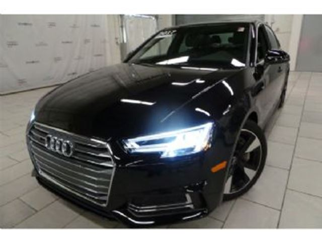 2017 AUDI A4 Komfort Quattro + Winter Tires w/Rims in Mississauga, Ontario