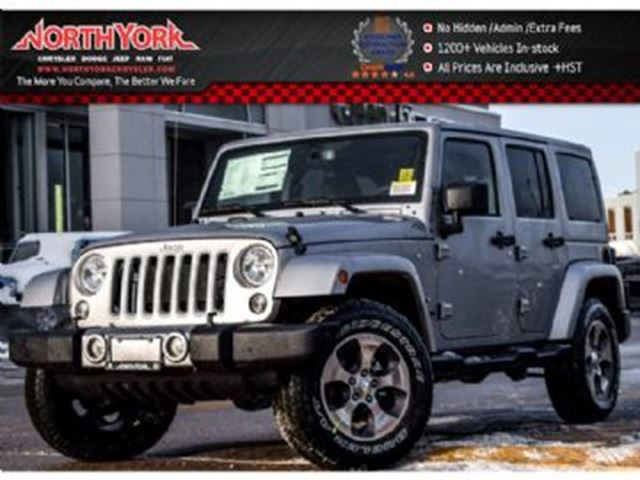 2018 JEEP WRANGLER Unlimited in Mississauga, Ontario