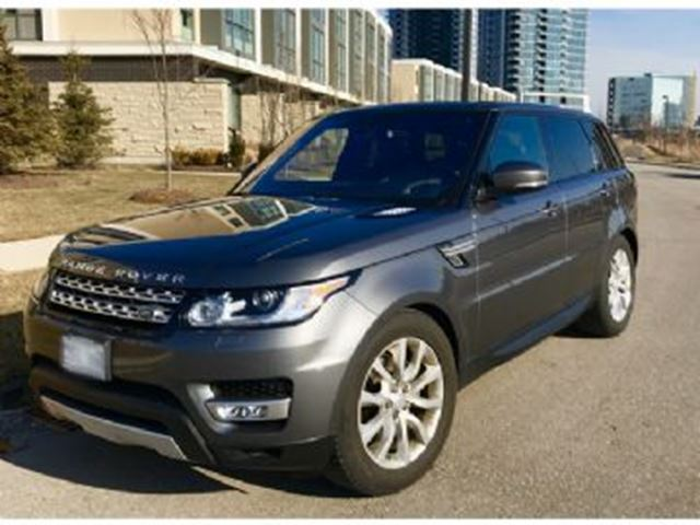 2016 LAND ROVER RANGE ROVER Sport 4WD 4dr Td6 HSE Premium Package in Mississauga, Ontario
