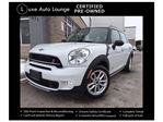2016 MINI Cooper Countryman COUNTRYMAN S AWD!! LOADED!! LOW KM!! PANORAMIC SUNROOF, AUTO, HEATED SEATS, BLUETOOTH, LUXE CERTIFIED PRE-OWNED!! in Orleans, Ontario