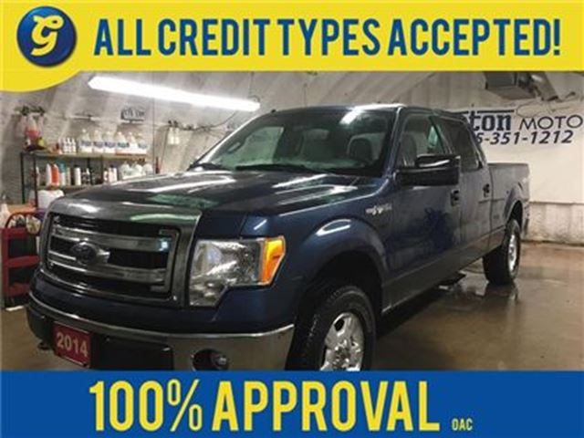 2014 FORD F-150 XLT*SUPERCREW*4X4*MICROSOFT SYNC PHONE CONNECT*ALL in Cambridge, Ontario