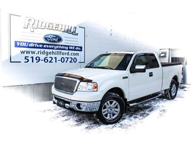 2008 FORD F-150 Lariat  4X4  LEATHER  ROOF  GREAT KM'S in Cambridge, Ontario