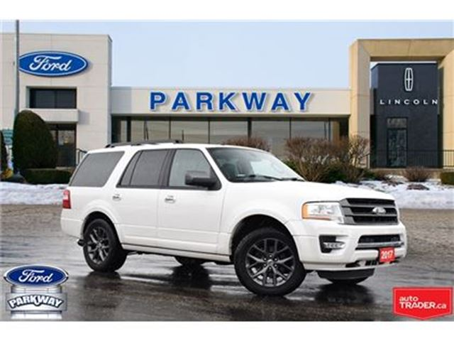 2017 FORD EXPEDITION Limited 1-OWNER NO ACCIDENTS $403 BIWEEKLY $0 DOWN in Waterloo, Ontario