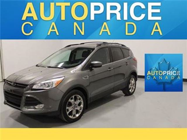 2014 FORD ESCAPE VISTAROOF ECO BOOST LEATHER BLUETOOTH in Mississauga, Ontario