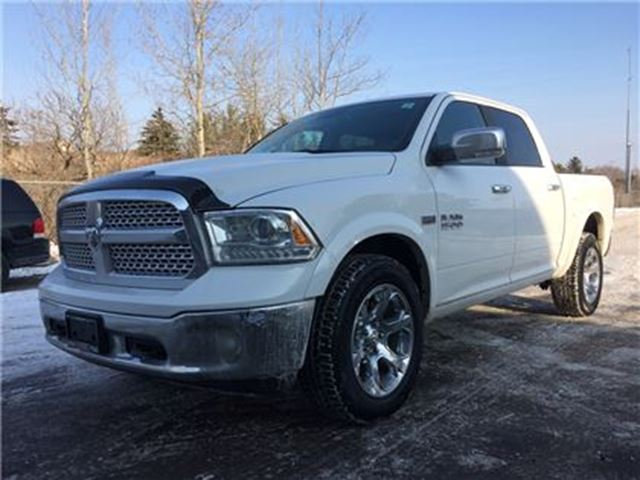 2017 DODGE RAM 1500 Laramie**ROOF**NAV**BACK-UP CAM**HTD SEATS** in Mississauga, Ontario