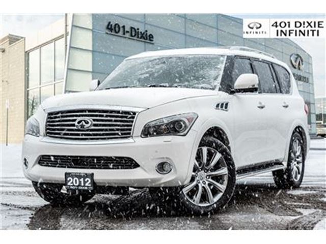 2012 INFINITI QX56 AWD, Technology Pkg! Cooled Seats, 4 Cameras! in Mississauga, Ontario