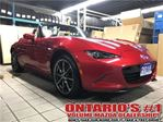 2016 Mazda MX-5 Miata  GT  6sp Tan Leather,NAVIGATIN-TORONTO in Toronto, Ontario