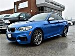 2016 BMW M235i Xdrive ONE Owner, Sunroof, Leather !!! in Concord, Ontario