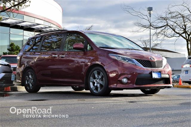 2015 TOYOTA SIENNA SE, JUST ARRIVED! in Richmond, British Columbia