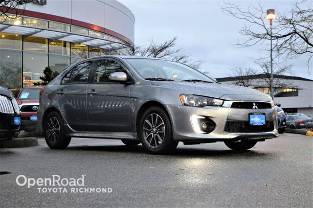 2016 MITSUBISHI LANCER Back-up camera, A/C, Bluetooth, Sunroof in Richmond, British Columbia