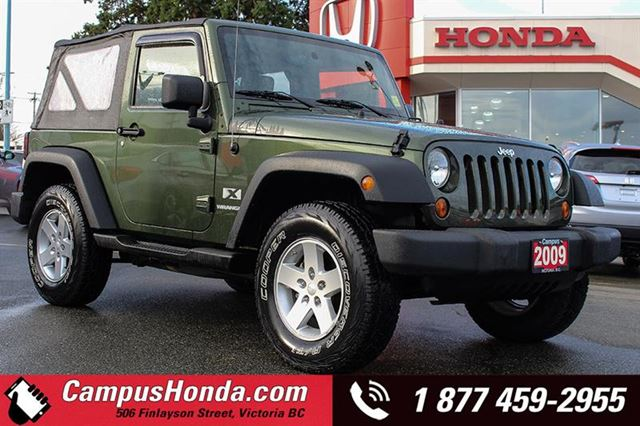 2009 JEEP WRANGLER X 2DR 4WD Manual in Victoria, British Columbia