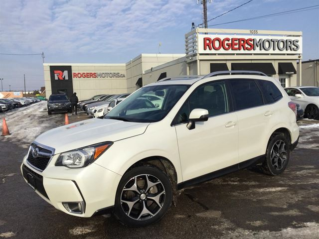 2015 SUBARU FORESTER 2.0XT - NAVI - LEATHER - PANORAMIC ROOF in Oakville, Ontario