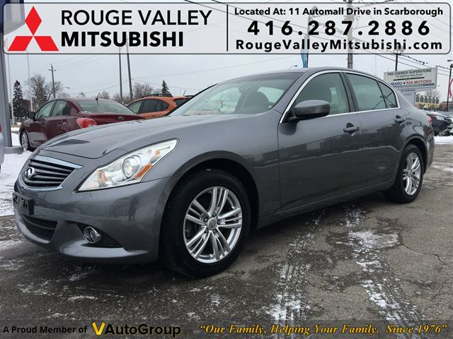 2010 INFINITI G37 x Luxury, NO ACCIDENTS, LOW MILEAGE !! in Scarborough, Ontario