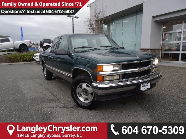 1998 Chevrolet CK Series 1500 Silverado *AMAZING* ACCIDENT FREE*ONE OWNER* in Surrey, British Columbia